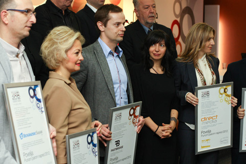 MCCANN BEOGRAD HAS BEEN SELECTED FOR THE SECOND TIME IN A ROW TO BE THE MOST SUCESSFUL AGENCY 1