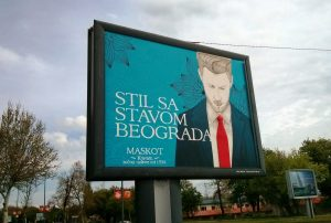 ONE-OF-A-KIND, HAND-PAINTED BILLBOARD APPEARS ON THE STREETS OF BELGRADE 2