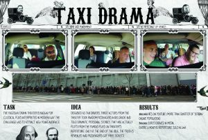 """""""Taxi Drama"""" at the final of the New York Advertising Festival 2"""