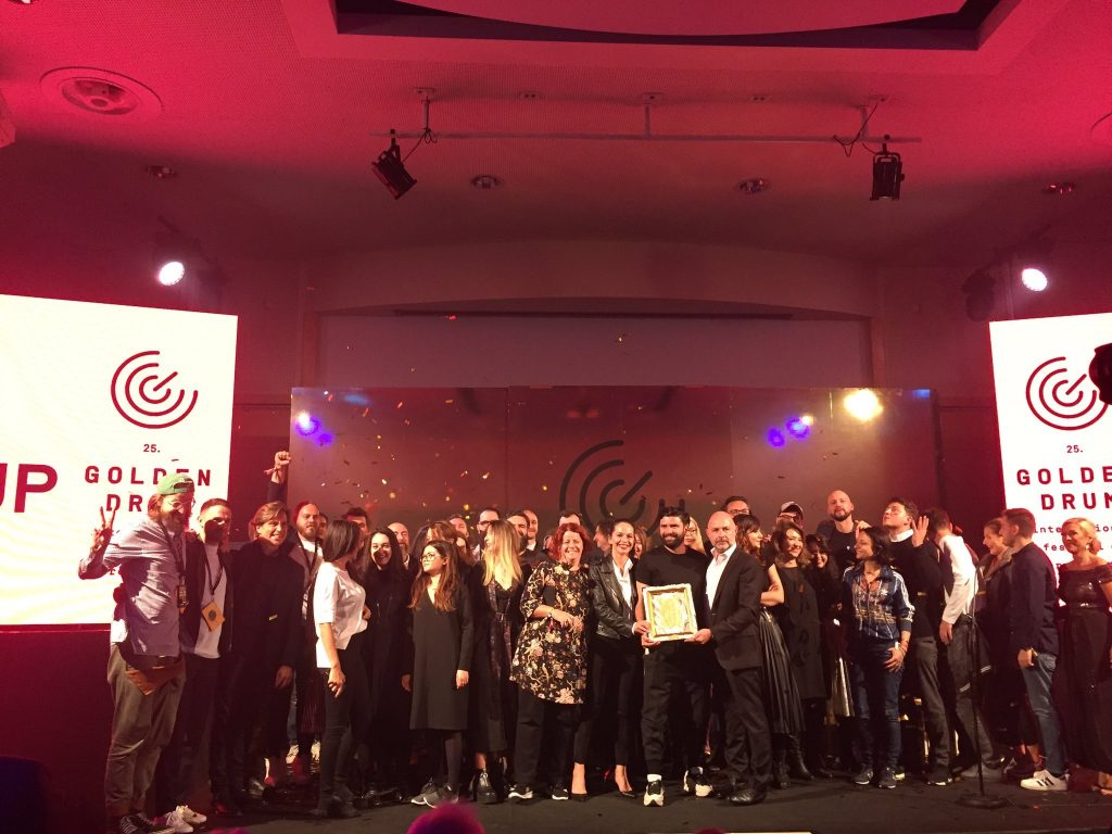 McCann Podgorica and McCann Beograd won Golden Drum Adriatic 1